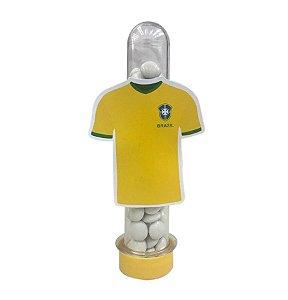 Tubete Camisa do Brasil c/ 10 unidades