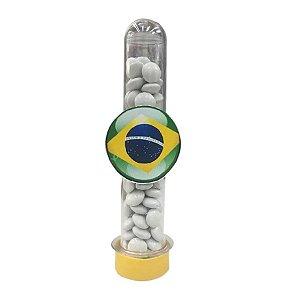 Tubete Bandeira do Brasil c/ 10 unidades