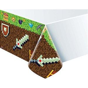 Toalha Plástica - Mini Pixels c/ 1 unidade