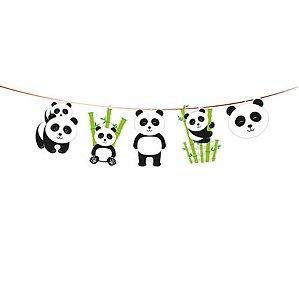Faixa Decorativa - Panda c/ 1 unidade