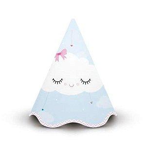 Chapéu de Aniversário - Chuva de Amor c/ 8 unidades