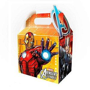 Caixa Surpresa - Os Vingadores c/ 8 unidades