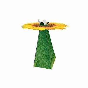 Cone Decorativo - Girassol c/ 10 unidades