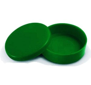 Latinha de Verde Escuro 5 cm c/ 10 unidades