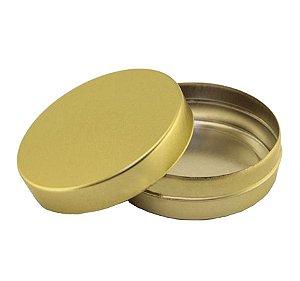Latinha de Dourada 5 cm c/ 10 unidades