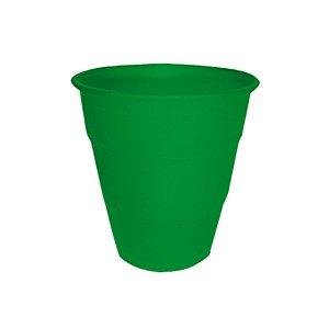 Copo de Plástico Reforçado Verde Escuro c/ 10 unidades
