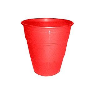 Copo de Plástico Reforçado Vermelho c/ 10 unidades
