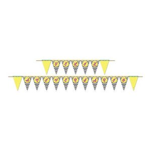 Faixa Feliz Aniversário - Abacaxi c/ 1 unidade