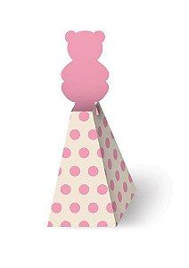 Caixa Bala - Chá de Bebê Menina c/ 8 unidades
