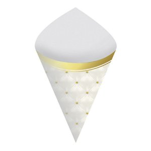 Cone para Doces - Realeza c/ 8 unidades
