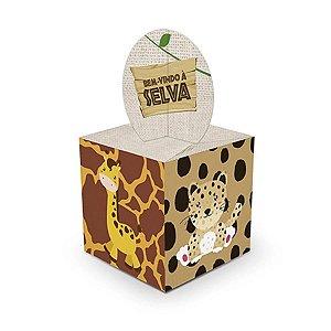 Caixa Lembrancinha - Bem-Vindo à Selva c/ 8 unidades