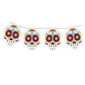 Faixa Decorativa -  Caveira Mexicana c/1 unidade