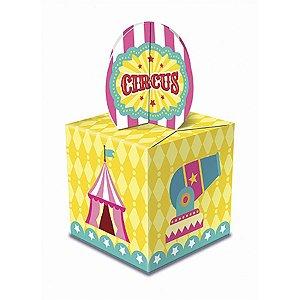 Caixa Lembrancinha - Circo Menina c/ 8 unidades