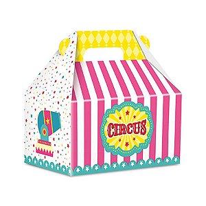 Caixa Surpresa Maleta - Circo Menina c/ 8 unidades