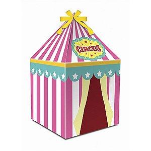 Caixa Tenda - Circo Menina c/ 8 unidades