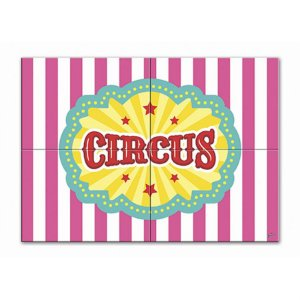Painel Gigante De Parede - Circo Menina c/ 1 unidade