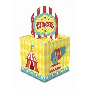 Caixa Lembrancinha - Circo Menino c/ 8 unidades