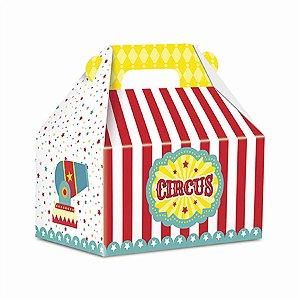 Caixa Surpresa Maleta - Circo Menino c/ 8 unidades