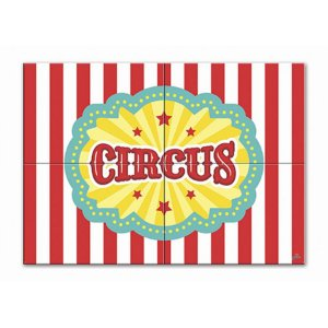 Painel Gigante De Parede - Circo Menino c/ 1 unidade