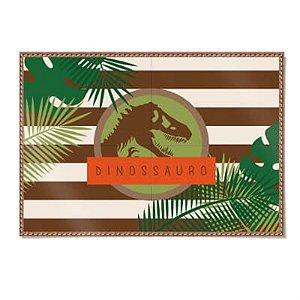 Painel 4 Lâminas - Mundo dos Dinossauros c/ 1 unidade