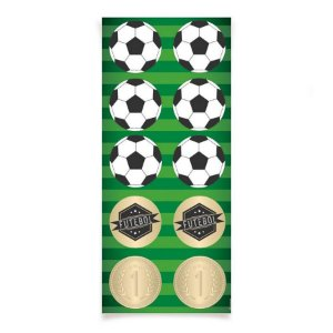 Adesivo Decorativo - Futebol c/ 30 unidades