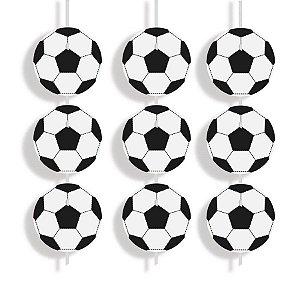 Cortina Decorativa - Futebol c/ 6 unidades