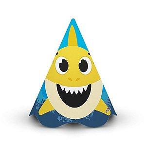 Chapéu Cone - Family Shark c/ 8 unidades