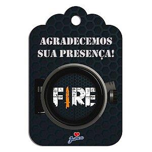 Tag de Agradecimento - Free Fire c/ 8 unidades