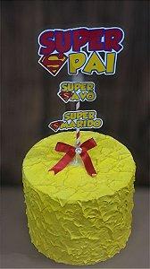 Topo de bolo - Dia dos Pais