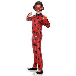 Fantasia Ladybug Miraculous Comprida