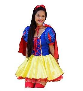 Fantasia Princesa Branca de Neve Adulto