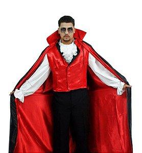 Fantasia Drácula Adulto Halloween