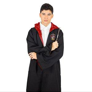 Fantasia Capa Longa Harry Potter Grifinória Unissex Adulto