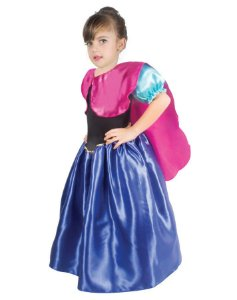 Fantasia Ana Frozen Infantil