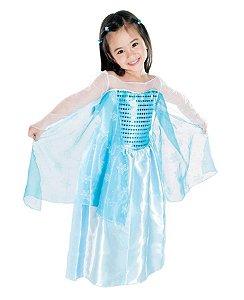 Fantasia Elsa Frozen Infantil