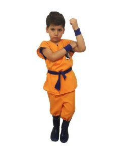 Fantasia Goku Dragon Ball Infantil