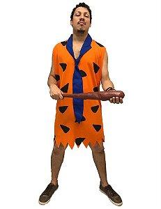 Fantasia Fred Os Flintstones Masculina Adulto