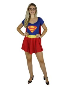 Fantasia Super Girl Adulto