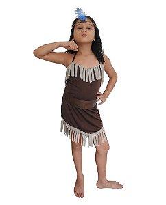 Fantasia Pocahontas Infantil Carnaval