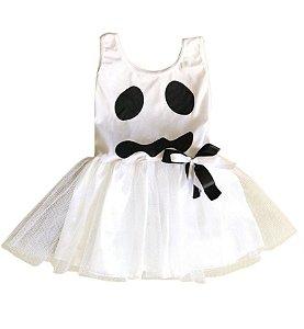 Fantasia Fantasminha Infantil Halloween