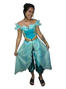 Fantasia Princesa Jasmine Adulto