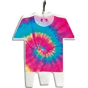 Vela Plana Camisa Tie Dye - 04 unidades