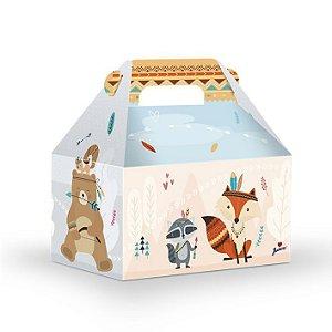 Caixa Surpresa Animais da Floresta - 08 unidades