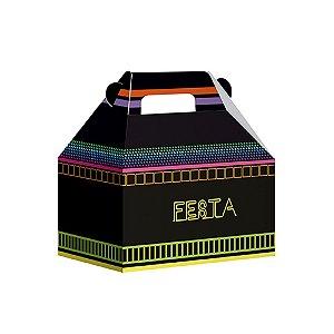 Caixa Maleta Neon Party - 08 unidades