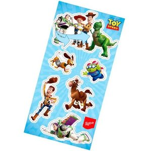 Lembrança adesiva- Toy Story c/ 04 cartelas