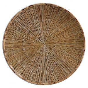 Sousplat Cerâmica Palha