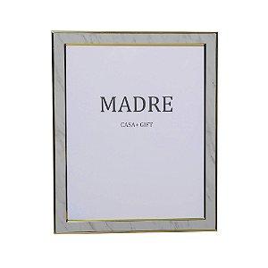 Porta Retrato Marble Branco