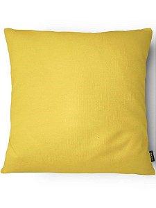 Capa para Almofada Amarela