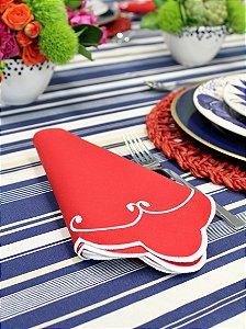 Guardanapo Wave Red