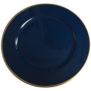 Sousplat Basic Azul